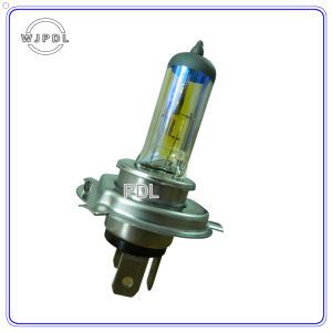 P43t or P45t Schott H4 Yellow Car Halogen Lamp pictures & photos