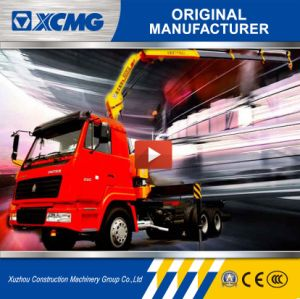 XCMG 5ton Sq5zk3q Folding-Arm Truck Mounted Crane for Sale pictures & photos