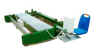 EPDM Granules Rubber Flooring Spreading Paving Machine pictures & photos