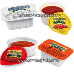Automatic Ketchup Cup Filling and Sealing Machine pictures & photos