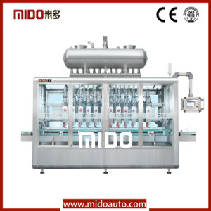 Automatic Stainless Steel/Pneumatic/Lubrication Oil Filling Machine in China pictures & photos