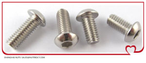 Socket Button Head Screw ISO7380, Stainless Steel 304 316 pictures & photos