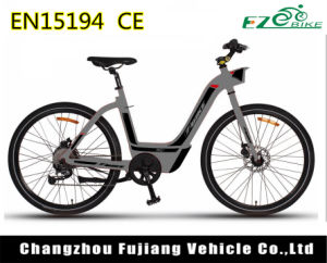 7 Speed Female New Hidden Battery 36V 250W Electric Bike pictures & photos