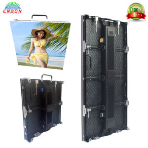 High Resolution P3.91 Movable Indoor LED Video Wall Rental LED Display Screen pictures & photos