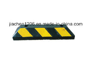 High Quality Reasonable Price Recycled Rubber Resistant Durable Wheel Stopper pictures & photos