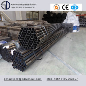 Ss330 Q195 Carbon Round Black Annealed Furniture Steel Pipe for Folding Chairs pictures & photos