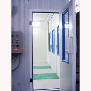 Btd7200 High-Efficency Furniture Spray Painting Booth with Ce pictures & photos