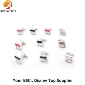 Soft Enamel Process Stainless Steel Cufflink for Gifts pictures & photos