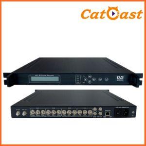 4in1 DVB-C SD to 4 Cvbs and RF Output Encoder Modulator