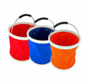 Cloth Material Foldable Water Bucket pictures & photos