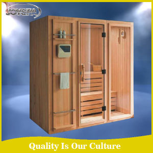 Solid Wood Main Material and Sauna Rooms Type Dry Sauna Room pictures & photos