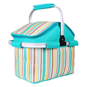 High Quality of Portable Cooler Basket for Travel and Camping pictures & photos
