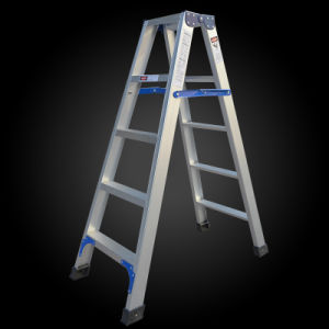 A Shape Aluminum Folding Step Ladder pictures & photos
