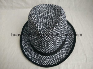 100% Twisted Paper Leisurely Style Fedora Hats