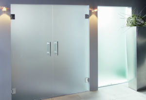 Frosted Glass Doors and Window Repair Glass Doors pictures & photos