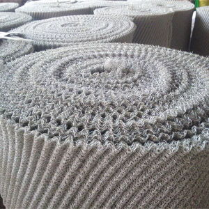 Gas and Liquid Filteration Wire Mesh, Knitted Gas Liquid Filter Wire Mesh pictures & photos