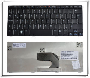 Laptop Keyboard for DELL Mini 1012 in La/Sp Layout Keyboard pictures & photos
