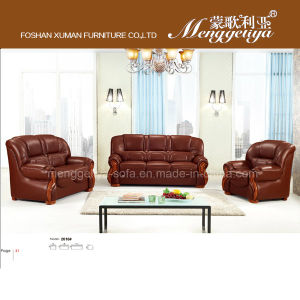 High Quality Sectional Genuine Leather Sofa (2016#)