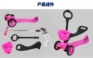 Cheapest Mini Mirco Scooter with 8 Color Can Choose (et-mc001) pictures & photos