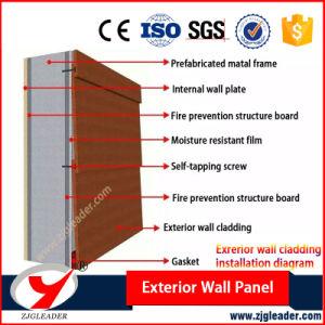 Beautiful Long-Life No Asbestos Waterproof Exterior Wall Siding Panel pictures & photos