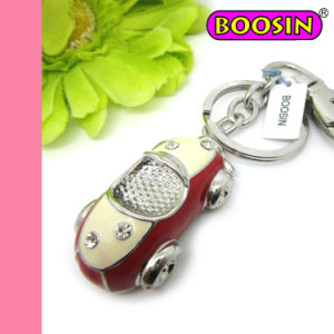 Red Car Keychain / Metal Promotion Gift Keychain Factory Wholesale pictures & photos