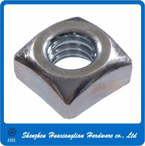DIN 557 Plain Carbon Steel Square Nuts pictures & photos