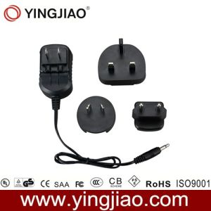 12W DC Adapter and Changeable AC Plug pictures & photos