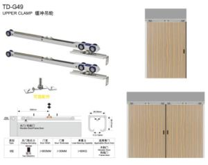 Hydraulic Hanging Wheel / Door Closer for Wooden Door (TD-G49) pictures & photos