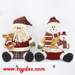 Multi Color Plush Santa Claus pictures & photos