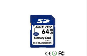 Wholesale 64GB PC/Camera SD Card (Class 10) pictures & photos