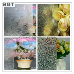 6-7mm Various Size Patterned Glass Rolled Glass for Different Usage pictures & photos