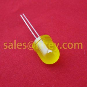 10mm Round Yellow LED Lamp pictures & photos