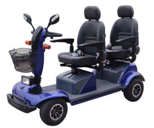 2016 New Two Seat Ce Certificate Mobility Scooters pictures & photos