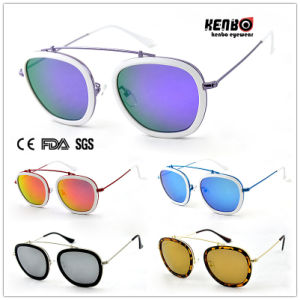 Best Selling Metal and Plastic Sunglasses for Accessory UV400 CE FDA Km15103 pictures & photos