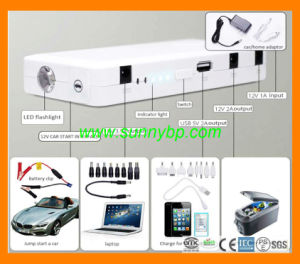 Solar Product Car Jump Starter Mobile Phone Power Bank pictures & photos