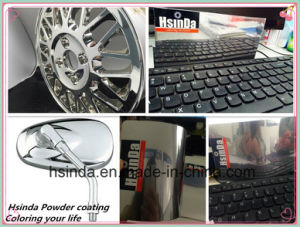 Nickel Chrome Shiny Silver Color Powder Coating pictures & photos