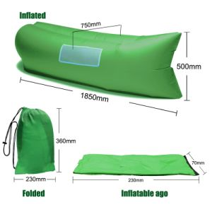 High Quality Portable Inflatable Air Sleeping Bag /Sofa pictures & photos