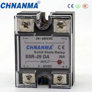 DC to AC Single Phase SSR Solid State Relay (SSR-DA) pictures & photos
