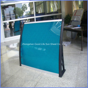 Popular 1500X5000mm DIY Polycarbonate PC Sun Shade Awning for Buildings pictures & photos