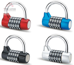 High Quality Color Aluminum Alloy Combination Padlock pictures & photos