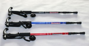 Tungsten Steel Antishock Trekking Pole for Camping (MW1042) pictures & photos