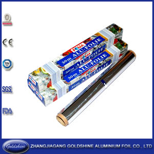 Disposable Kitchen Aluminium Foil Roll for Food Wrapping pictures & photos