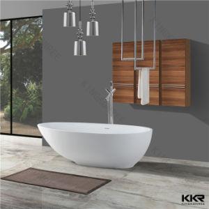 Resin Stone Bath Luxury Oval Freestanding Stone Bathtub pictures & photos