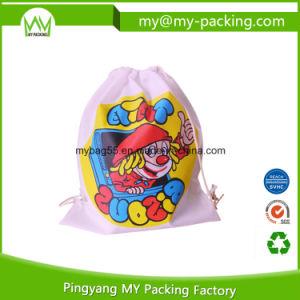 Custom Order Promotional School Drawstring Bag for Kids pictures & photos