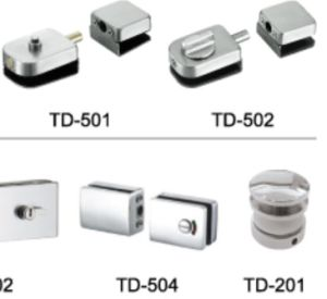 Casting Stainless Steel Glass Door Lock (TD-504) pictures & photos