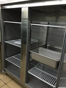 Stainless Steel Ventilated Cabinet Freezer -Gn1410bt pictures & photos