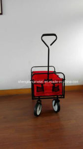 Folding Wagon Tc1809 with 8 Inches PVC Wheels pictures & photos