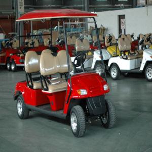 Ce Approval 4 Passengers Electric Club Car (RSE-2049) pictures & photos