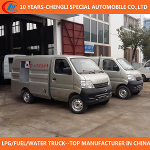4X2 Mini Sidewalk Cleaning Truck Road Sweeper pictures & photos