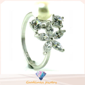 Factory Price High Quality 925 Silver Jewelry Ring (R10446) pictures & photos